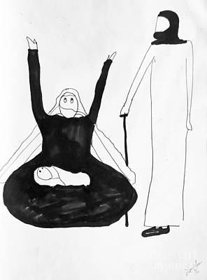 Drawing - Birth by Lyric Lucas