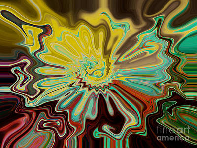 Digital Art - Birth Of A Flower by Lorraine Heath