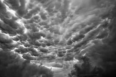 Birth Of A Mammatus Art Print by Robert FERD Frank