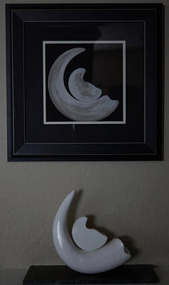 Photograph - Birth Of A New Moon Collaboration by Ernie Echols