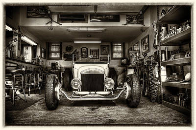 Birth Of A Roadster Art Print by Robert  FERD Frank
