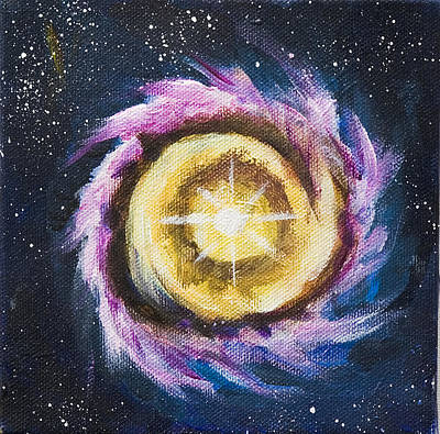 Painting - Birth Of A Star by Yulia Kazansky