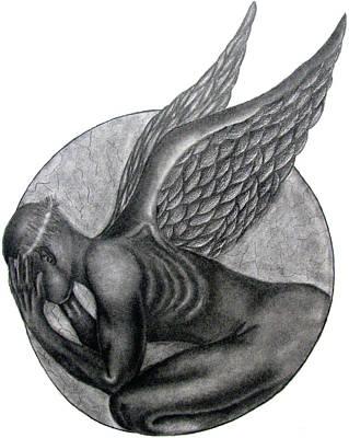 Birth Of An Angel Art Print by Patrick Carrington