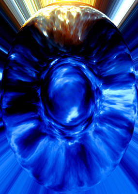 Digital Art - Birth Of Blue by Donna Proctor