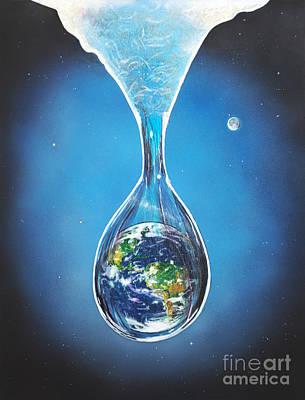 Birth Of Earth Art Print