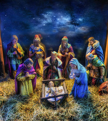 Birth Of Jesus Art Print