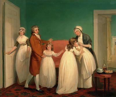 Birth Of The Heir, William Redmore Bigg, 1755-1828 Art Print
