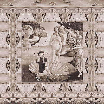 Digital Art - Birth Of Venus by Dolores Kaufman