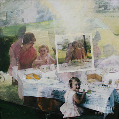 Wall Art - Painting - Birthday 1969 by Ellen Moore Osborne