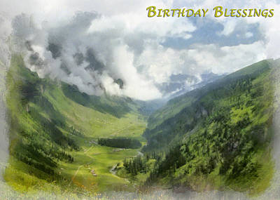 Photograph - Birthday Blessings by Dawn Currie