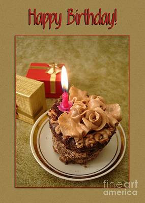 Digital Art - Birthday Chocolate Goodness by JH Designs