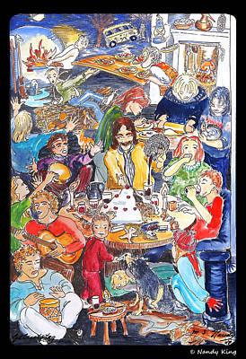 Birthday Art Print by Nandy King