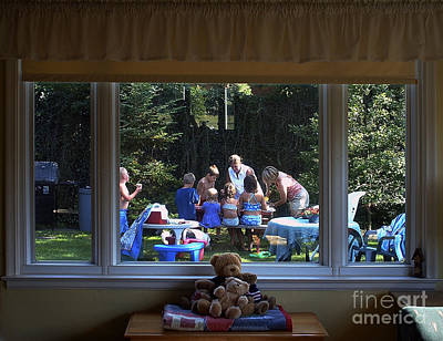 Photograph - Birthday Party by Tom Brickhouse