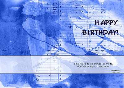 Birthday Quote 2 Art Print