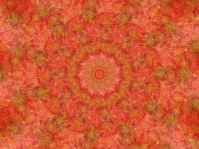 Digital Art - Birthing Mandala 15 by Rhonda Barrett