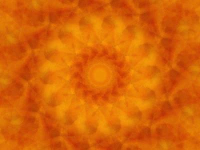 Digital Art - Birthing Mandala 4 by Rhonda Barrett