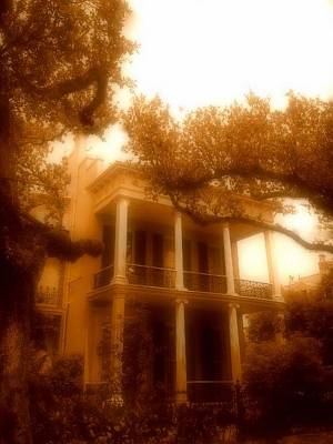 Birthplace Of A Vampire In New Orleans, Louisiana Art Print by Michael Hoard