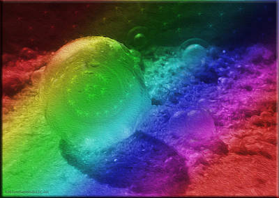 Circle Photograph - Birthplace Of Rainbows And Stars by LeeAnn McLaneGoetz McLaneGoetzStudioLLCcom