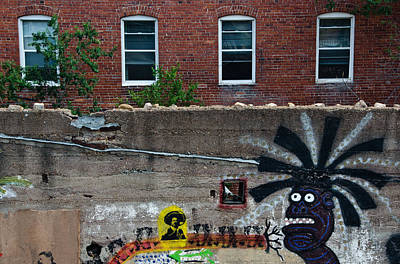 Bisbee Arizona Graffiti Art Print by Dave Dilli