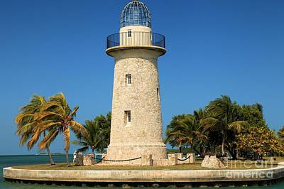 Photograph - Biscayne Lighthouse by Adam Jewell