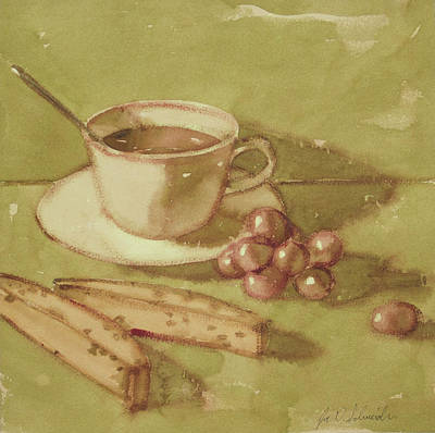 Painting - Biscotti by Joe Schneider