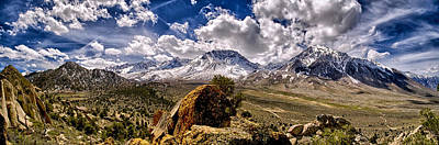 Landscapes Royalty-Free and Rights-Managed Images - Bishop California by Cat Connor