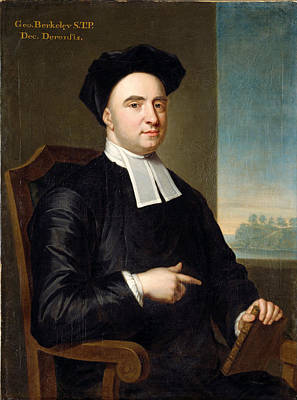 Berkeley Painting - Bishop George Berkeley by John Smybert