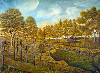 Communal Painting - Bishop Hill Colony by Granger