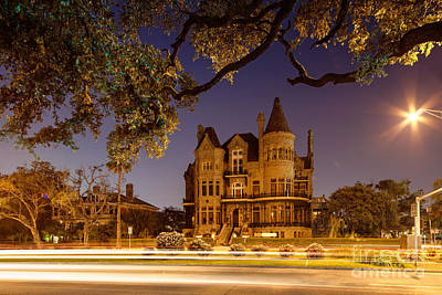 Chateau Photograph - Bishop's Palace Gresham's Castle - Galveston Texas by Silvio Ligutti