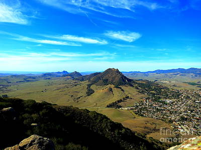 Photograph - Bishops Peak And Her Sisters by Paul Foutz