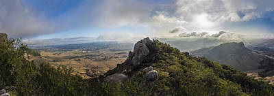 Luis Photograph - Bishop's Peak by Jeremy Jensen