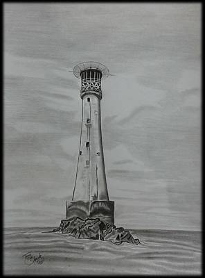 Bishops Rock Lighthouse Art Print