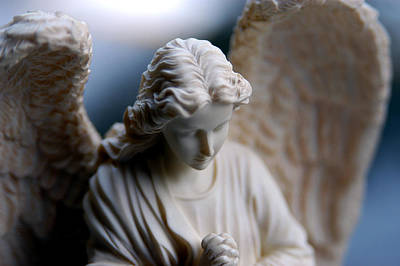 Seraphim Angel Photograph - Bisque Angel by Glenn McGloughlin