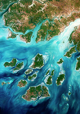 Guinea Wall Art - Photograph - Bissagos Archipelago by Planetobserver/science Photo Library