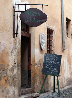 Photograph - Bistro De L Arte by Tamyra Crossley