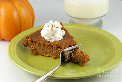 Photograph - Bite Of Pumpkin Pie by Juli Scalzi