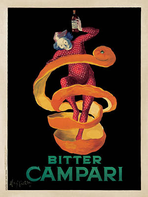 Bitter Campari Art Print by Leonetto Cappiello