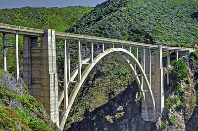 Photograph - Bixby Bridge 1 by SC Heffner