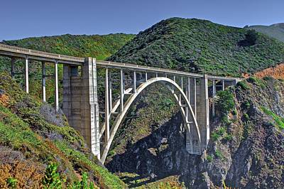 Photograph - Bixby Bridge 4 by SC Heffner