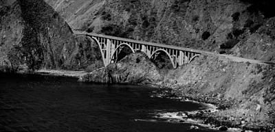 Photograph - Bixby Bridge At Big Sur by Eric Tressler