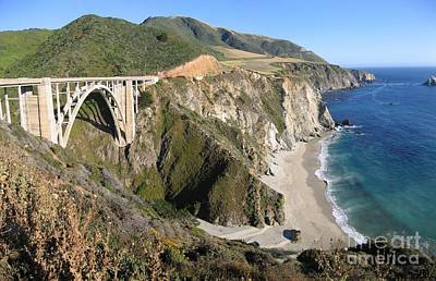 Photograph - Bixby Bridge by James B Toy