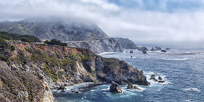 Photograph - Bixby Bridge - Large Print by Anthony Citro