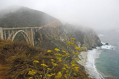Photograph - Bixby Bridge   Pch   California by Willie Harper