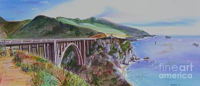 Bixby Bridge Santa Cruz Original