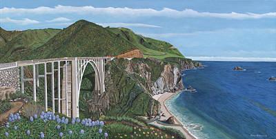 Bixby Creek Bridge Big Sur California Original