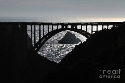 Photograph - Bixby Creek Bridge Big Sur Pat Hathaway Photo by California Views Mr Pat Hathaway Archives