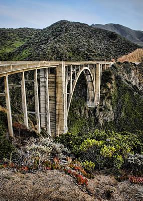 Big Sur Photograph - Bixby Creek Bridge by Heather Applegate