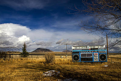 Photograph - Bizarre Giant Radio In Idaho by For Ninety One Days