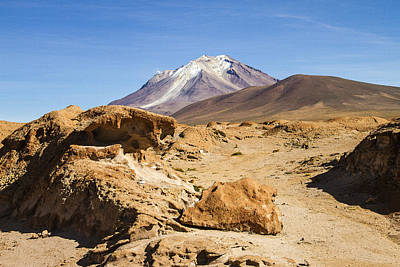 Bizarre Landscape Bolivia Art Print by For Ninety One Days