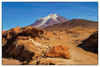 Photograph - Bizarre Landscape Bolivia Select Focus by For Ninety One Days